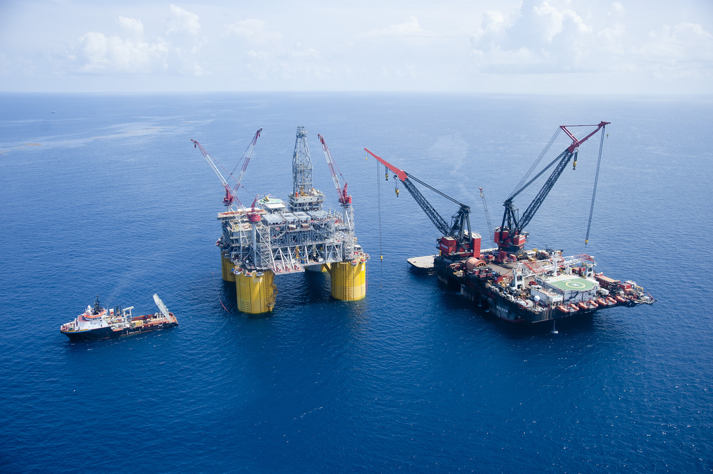 Offshore Oil Drilling Rigs
