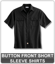 Men's Button Front Short Sleeve Shirts