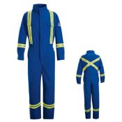 FR Deluxe Coverall with Reflective Trim - 9.0oz ComforTouch