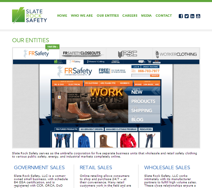 FRSafety.com Home Page