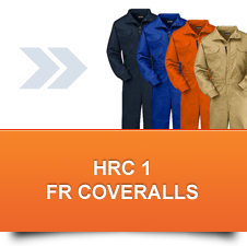 HRC 1 FR Coveralls