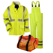 Arc H2O Rain Gear Kit - 30' Coat & Bib Overall - ANSI Class 3
