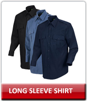 Law Enforcement Long Sleeve Button Front Shirts