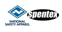 National Safety Apparel and Spentex Logo