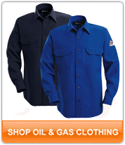 NFPA 2112 Shirts, Coveralls and Pants for Gas and Oil Workers!