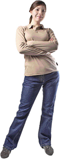 National Safety Apparel Women's Stretch Jeans