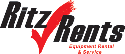 Ritz Rents - PPE safety equipment rental logo