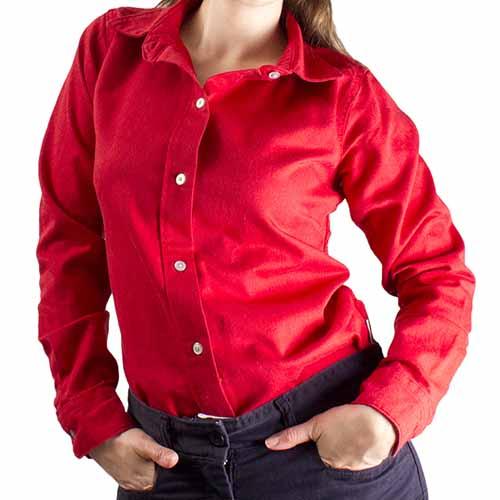 National Safety Apparel Women's FR Work Shirt