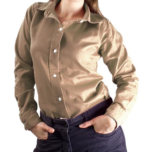 National Safety Apparel Women's Ultrasoft FR Work Shirt