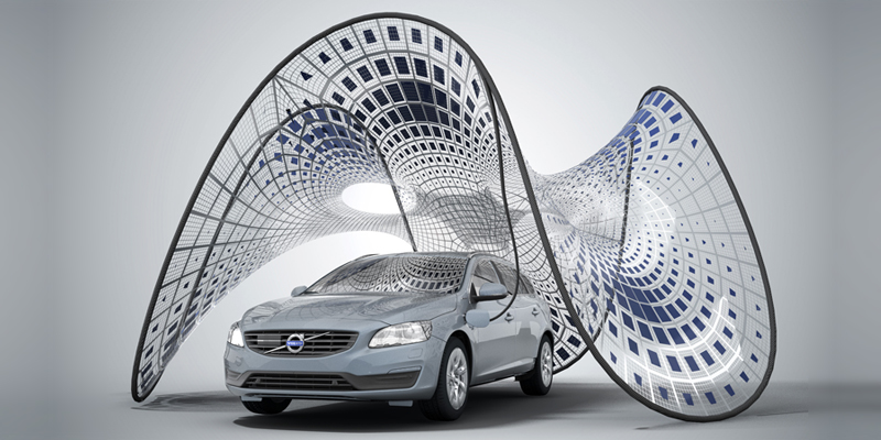 Volvo Foldable Charging Station