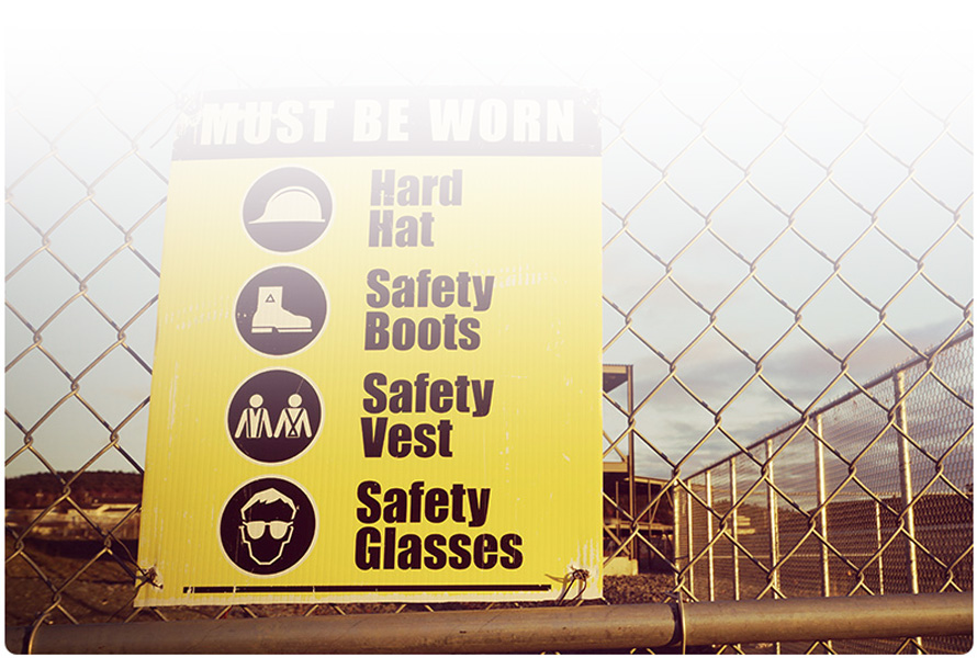 Custom signs & signage for your workplace or jobsite from Ritz Safety