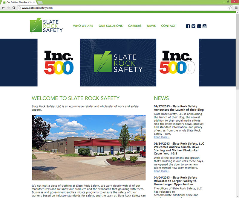 Slate Rock Safety Home Page