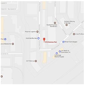 Ritz Safety - San Antonio map clip