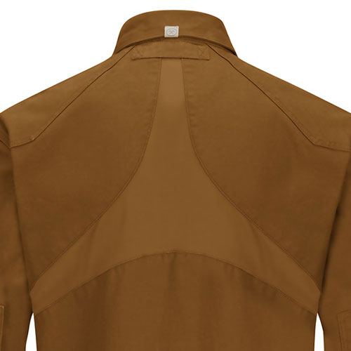 057eb58cccd Stretch panels on back of Woven Work Shirt