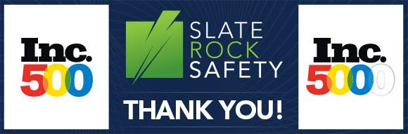 Slate Rock Safety Inc. 500 Banner