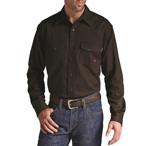 Ariat FR Solid Work Snap Shirt