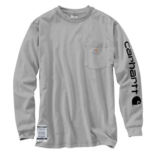 Carhartt Force Graphic Long-Sleeve T-Shirt