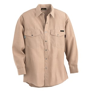 Western-Style Flame Resistant Work Shirt