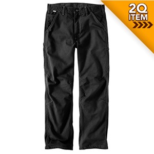 Carhartt FR Washed Duck Dungaree in Black