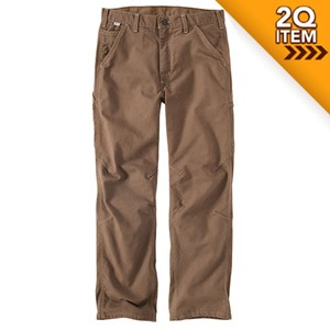 FR Washed Duck Dungaree in Mid Brown