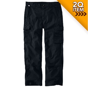 Carhartt Ripstop Flame Resistant Utility Pants in Black