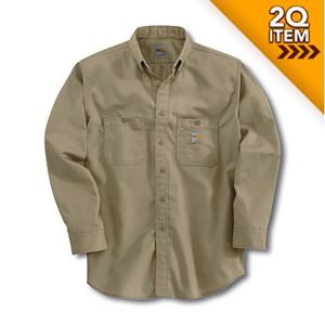 Carhartt FR Tradesman Shirt in Khaki