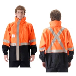 Omega 5000 Series FR Rain Jacket with ID Pocket