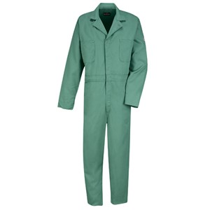 FR Gripper Front Coverall in 9oz EXCEL FR 100% Cotton