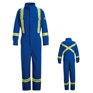 FR Deluxe Nomex Coverall with Reflective Trim
