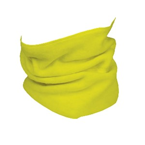 Dragonwear Omega FR Neck Gaiter in Hi Vis Yellow