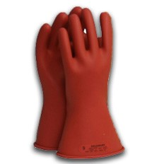 11-inch Class 00 Rubber Voltage Gloves