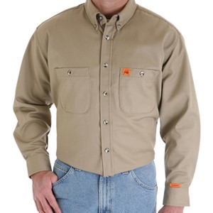 Button Down Flame Resistant Work Shirt