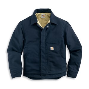 FR Midweight Quilt-Lined Canvas Dearborn Jacket-Navy