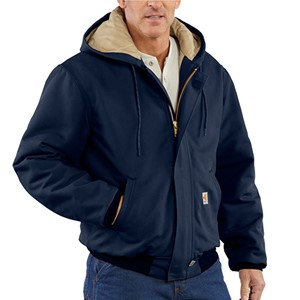 Flame Resistant Duck Active Jacket with Quilt Lining - Navy
