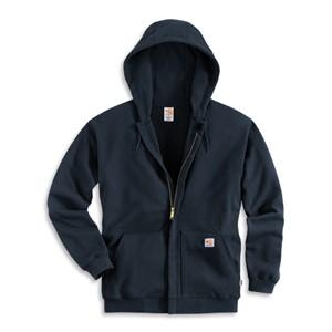 Flame Resistant Heavyweight Zip Front Sweatshirt