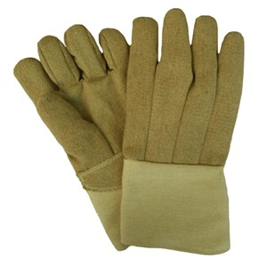 """14"""" Straight Thumb 22 oz. PBI/Kevlar Gloves with Thermobest Cuff"""
