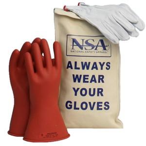 Glove Kit, 11-inch Class 0 Rubber Voltage Gloves