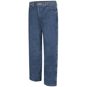 Stonewashed Loose-Fit FR Jean