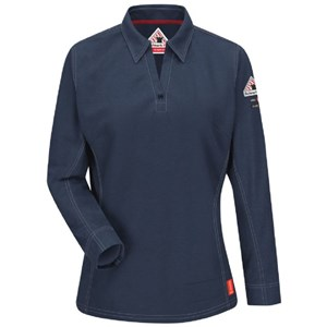 iQ Women's Flame Resistant Long Sleeve Polo