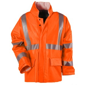 "Arc H2O 30"" Jacket - ANSI Class 3 - Fluorescent Orange"