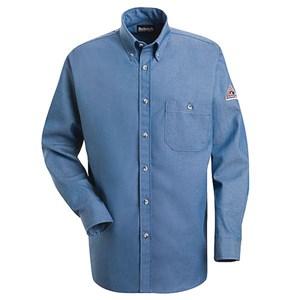 EXCEL FR 100% Cotton Denim Dress Shirt