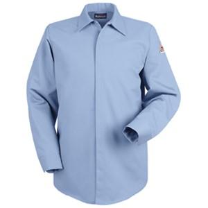 Concealed-Gripper FR Pocketless Shirt in EXCEL FR ComforTouch