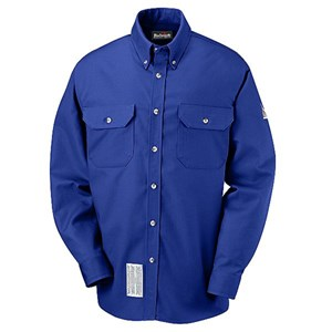 FR Button Front Work Shirt Excel-FR ComforTouch Blend