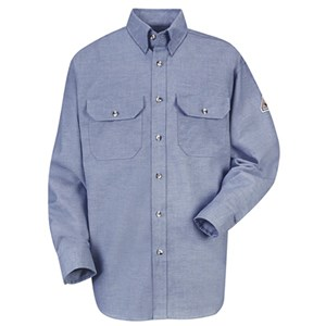 FR Chambray Uniform Shirt in Excel FR ComforTouch