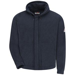 FR Zip-Front Hooded Fleece Sweatshirt