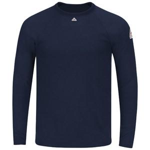 Bulwark Long Sleeve Tagless FR T-Shirt in Modacrylic