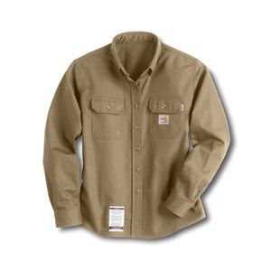 Womens Flame-Resistant Twill Shirt